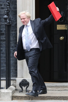 Der frühere Londoner Bürgermeister und Außenminister Boris Johnson wird wohl zum neuen Premier gekürt.
