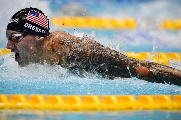 US-Schwimmer Caeleb Dressel bringt es auf sieben Titel.