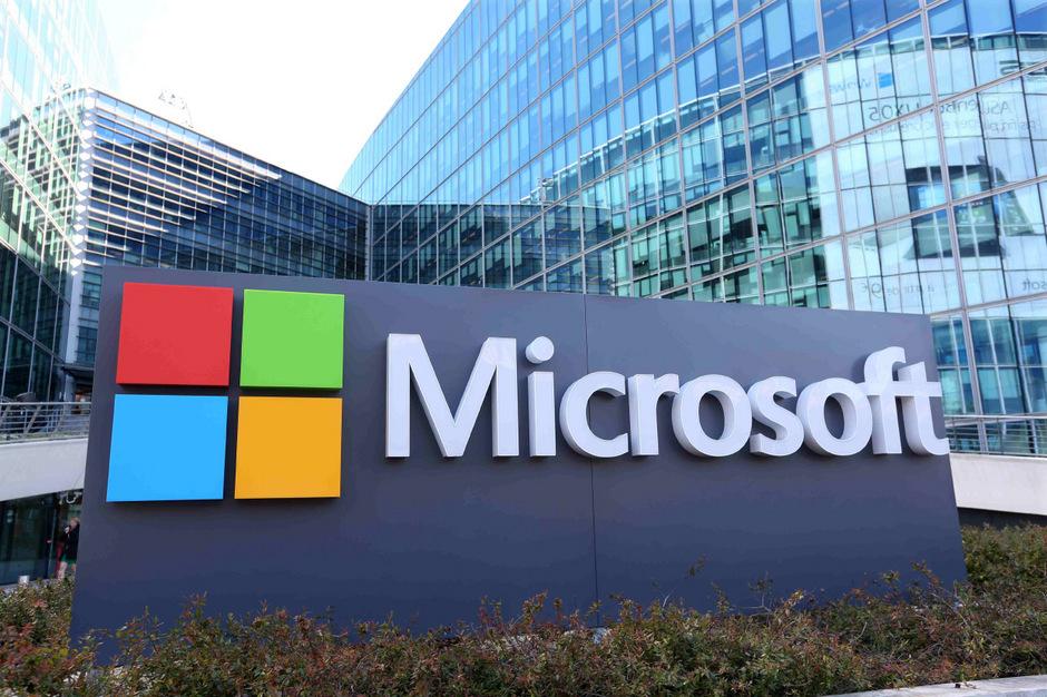 """Mit """"Azure"""" ist Microsoft am Markt für Cloud-Software, die per Abonnement über das Internet bezogen wird, zur Nummer zwei im Markt hinter """"AWS"""" von Amazon aufgestiegen."""