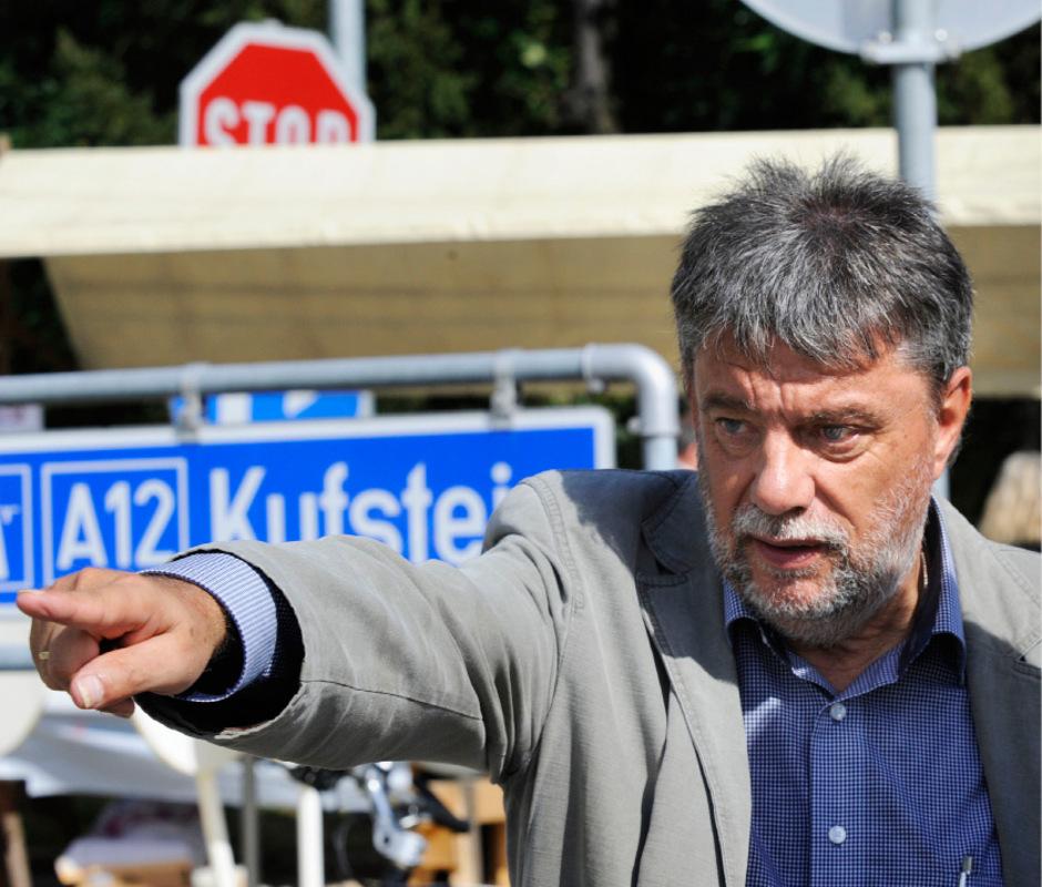 Obmann Fritz Gurgiser