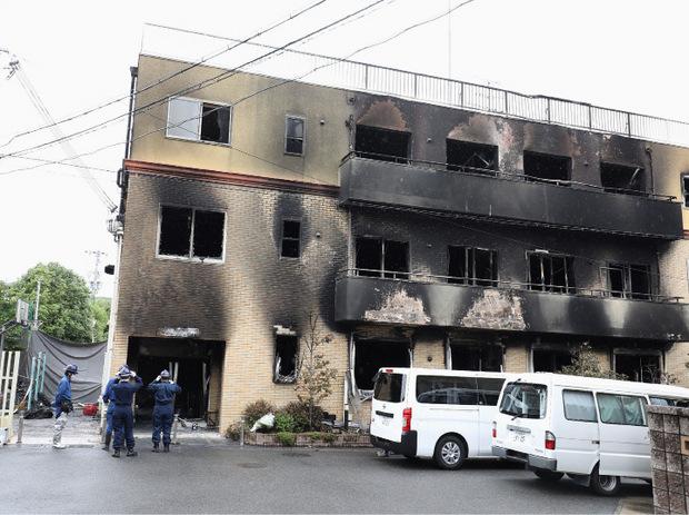 Das Filmstudio brannte völlig aus, über 70 Menschen blieb keine Zeit zur Flucht.
