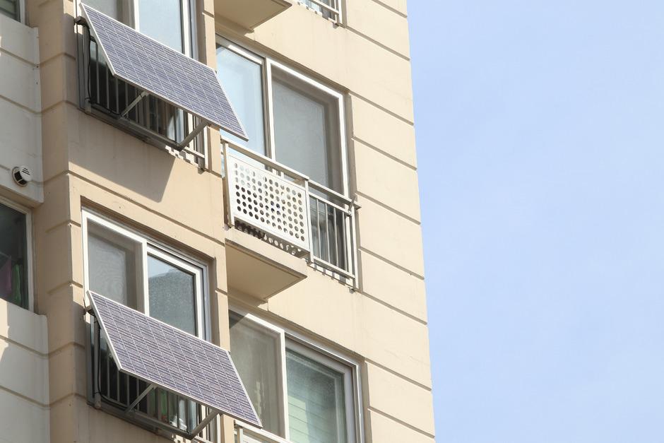 Kleinanlagen am Balkon sollen vor allem den Eigenverbrauch decken.