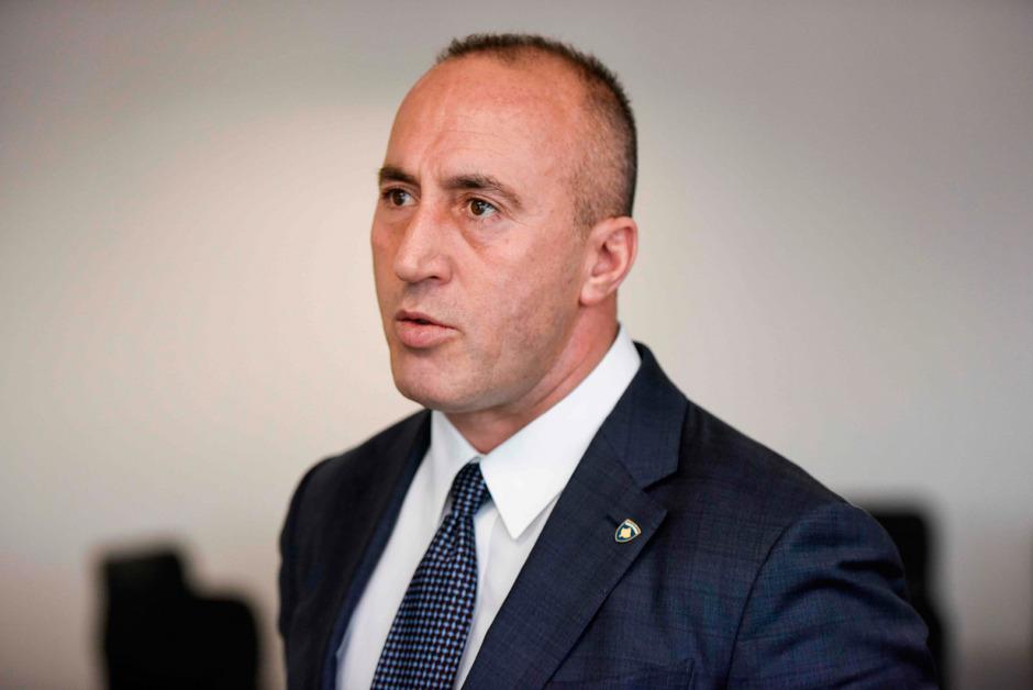 Ramush Haradinaj kündigte an, sein Amt aufzugeben.