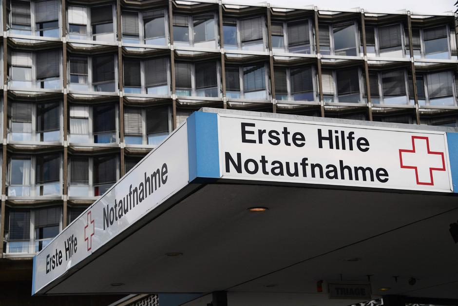 Die Berliner Charité.