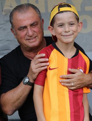Galatasaray-Coach Fatih Terim.