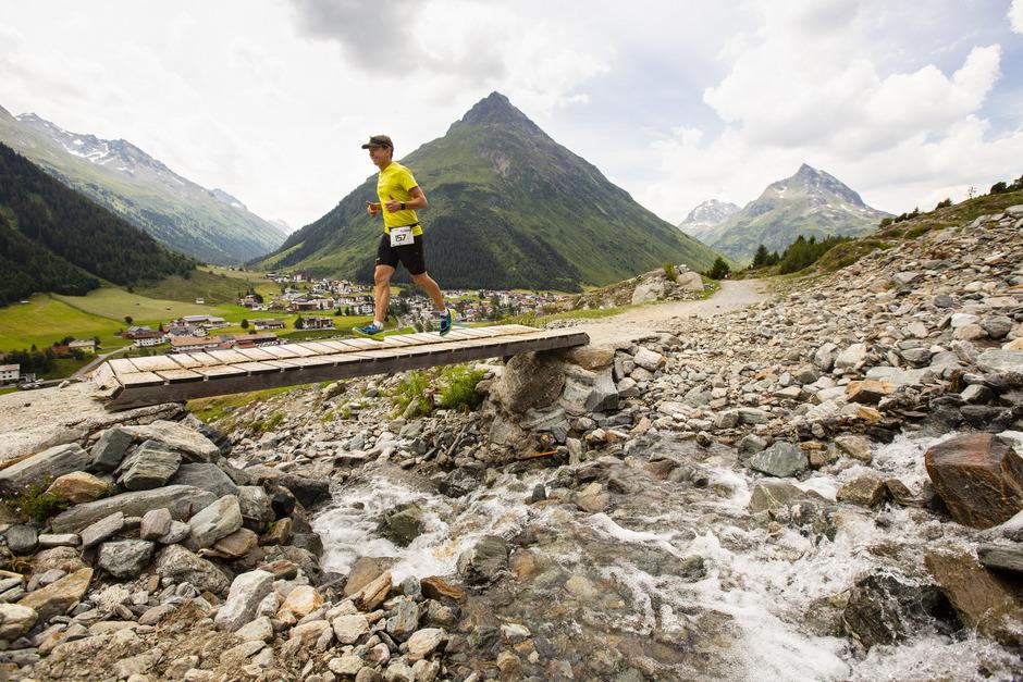 Auf den 42,2 Kilometern warteten im Hauptlauf des Silvrettarun malerische Abschnitte.
