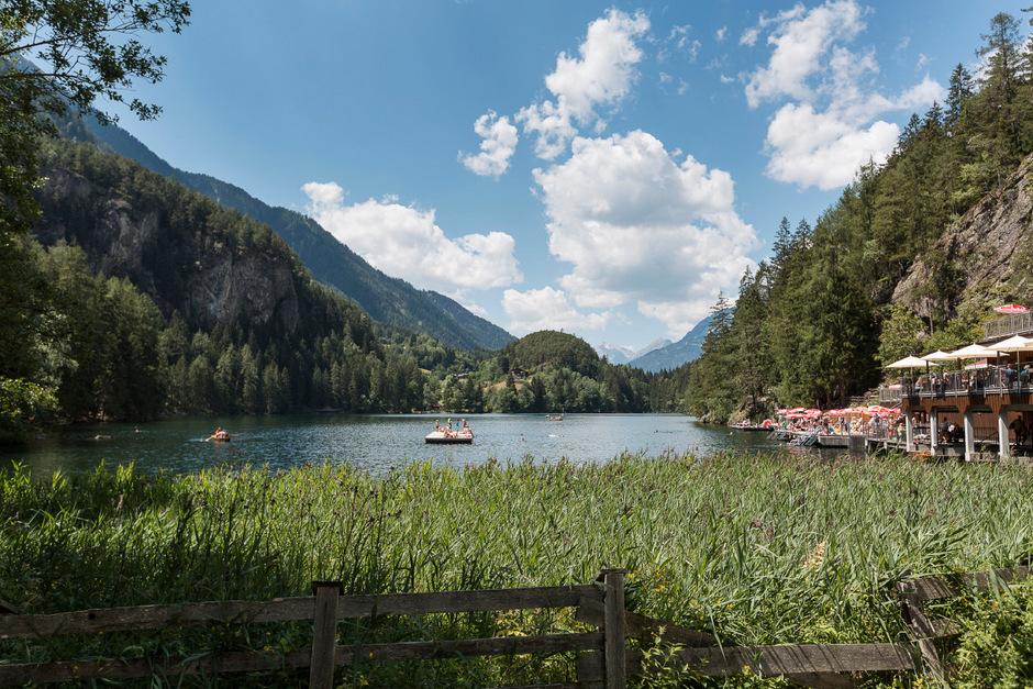 Der Piburger See in Oetz.