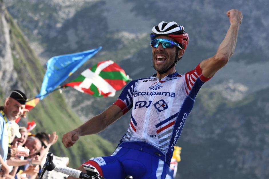 Thibaut Pinot entschied die 14. Etappe für sich.