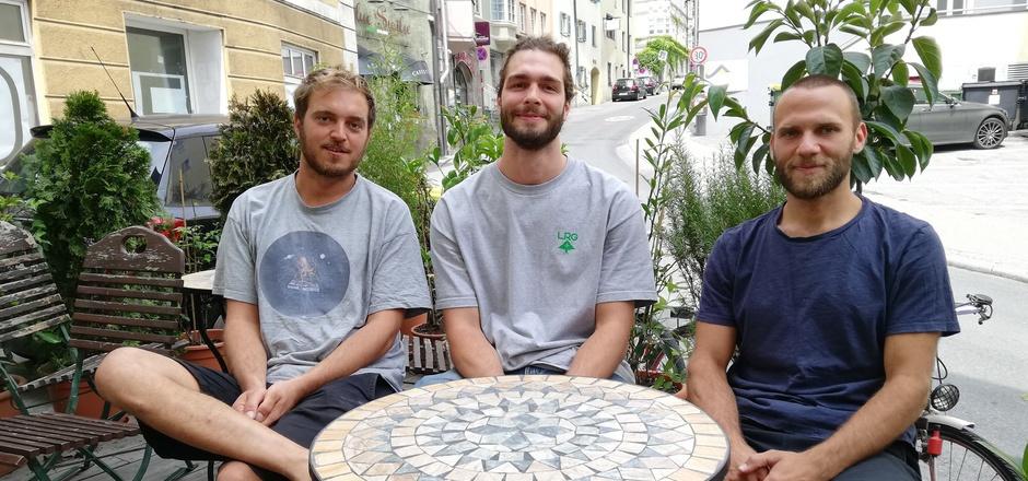 Die Gastronomen Johannes Steinkopff, Günter Drexel und Stephan Limmer (v.l.) versuchen aktiv, Lärm vor ihren Lokalen und damit Beschwerden der Anrainer zu reduzieren.