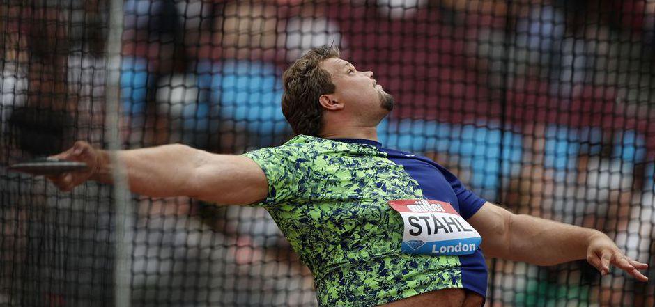 Einmal mehr der Sieger des Tages. Der Schwede Daniel Stahl.