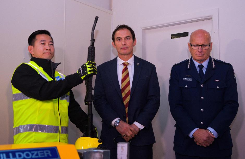 Für den Rückkauf der Waffen hat Neuseeland über hundert Millionen Dollar bereitgestellt.