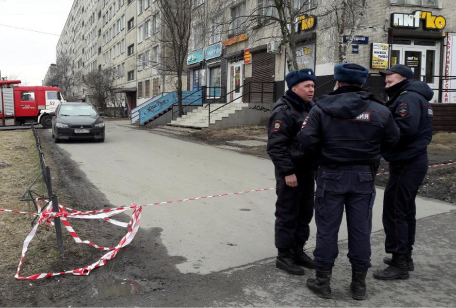 Russische Polizisten. (Archivbild)