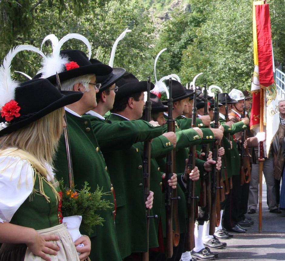 Die Schützenkompanie Kaunertal lädt am kommenden Wochenende zum Talschaftsfest.