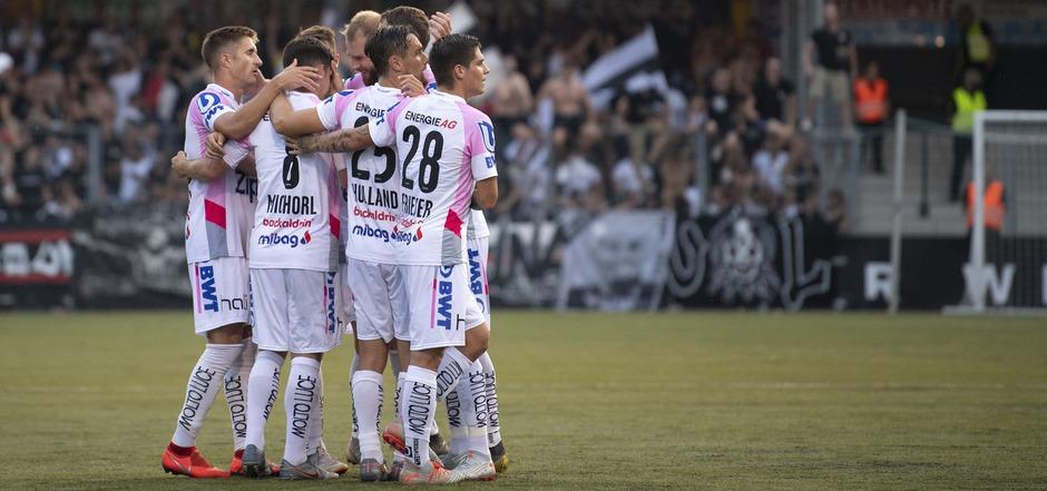 Die LASK-Kicker haben im Europacup ein hartes Stück Arbeit vor sich.