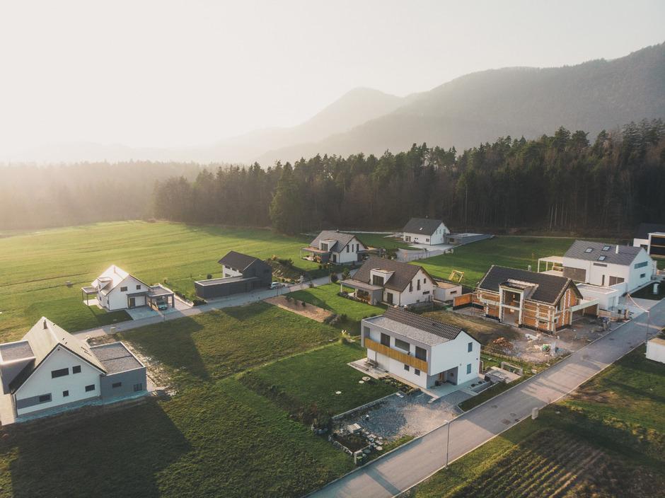 41 Prozent derjenigen, die auf Immobiliensuche sind möchten auf das Land ziehen.
