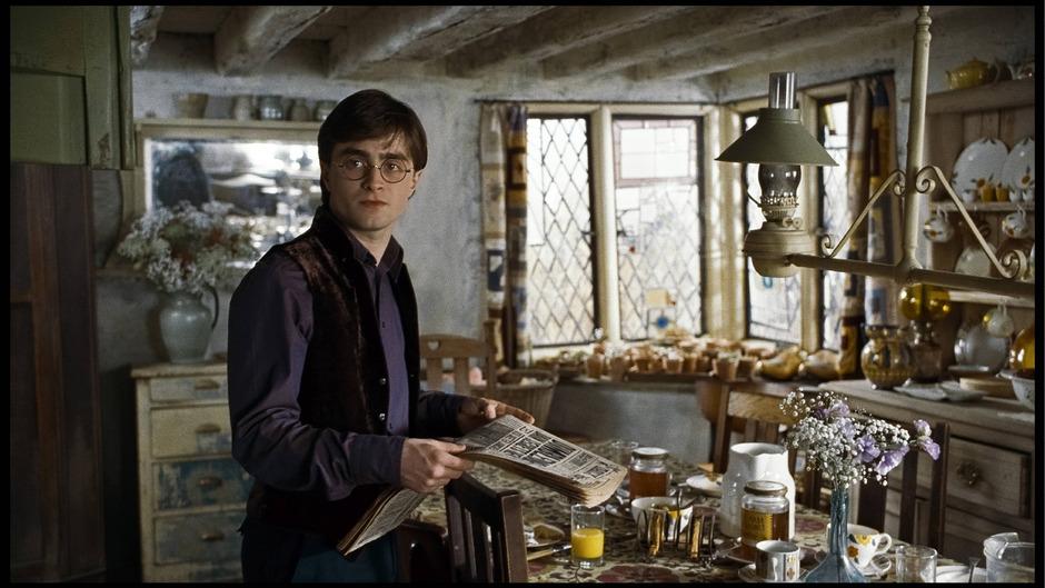 """Daniel Radcliffe in """"Harry Potter und die Heiligtümer des Todes""""."""