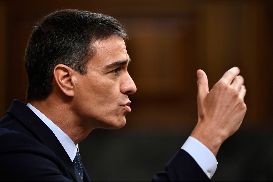 Pedro Sánchez war bei der Wahl erfolgreich, ringt jedoch um eine Mehrheit im Parlament.