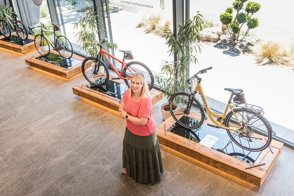 Mittelfristig will Vivax-Chefin Monika Schweitzer vielleicht eigene Läden betreiben.