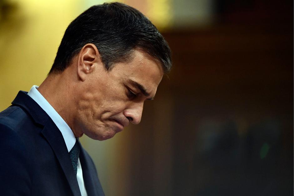 Der spanische Ministerpräsident Pedro Sánchez.