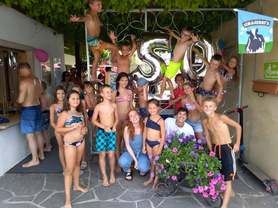 Die Itterer Kinder feierten das Jubiläum.