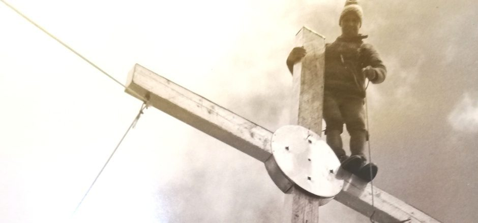 In neun Tagen Arbeit wurde vor 50 Jahren das Gipfelkreuz auf der Plamorter Spitze aufgestellt. Heuer wird das Jubiläum gefeiert.