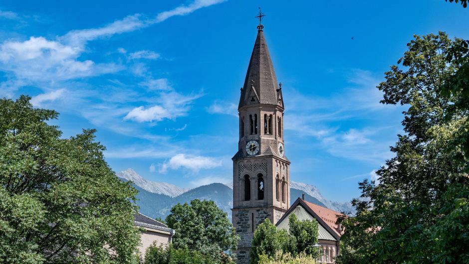 Die Pfarrkirche im Innsbrucker Stadtteil Pradl.