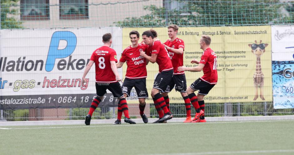 Die Reichenau kam beim 6:0-Auftaktsieg gegen Schwaz gar nicht aus dem Jubeln heraus.