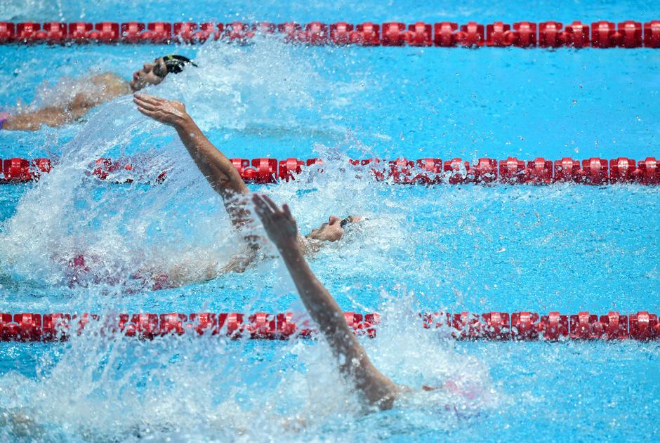 Unter den Verletzten sollen auch Sportler der Weltmeisterschaft gewesen sein - hauptsächlich Wasserballerspieler.