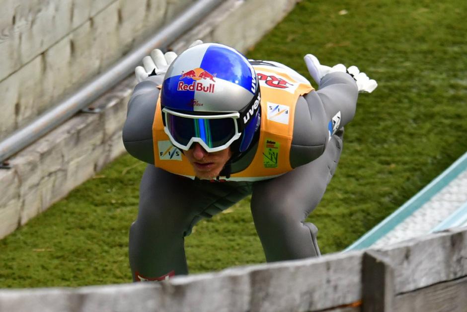 Gregor Schlierenzauer zeigte mit Sprüngen auf 106 und 106,5 m auf.