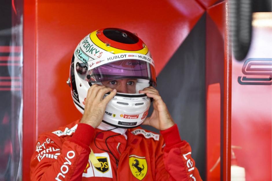 Sebastian Vettel musste unverrichteter Dinge wieder abziehen, blieb ohne gewertete Runde.