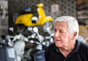 Sein Opa Richard gründete 1974 das Vespa Center.
