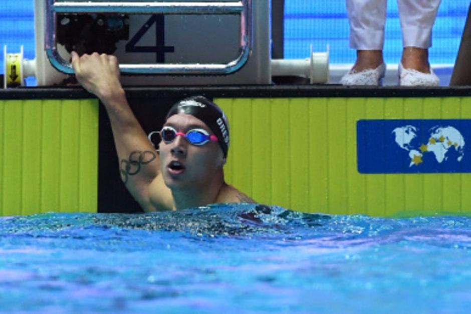 Caeleb Dressel hatte alles im Griff, hält nun bei bereits 13. WM-Goldmedaillen.