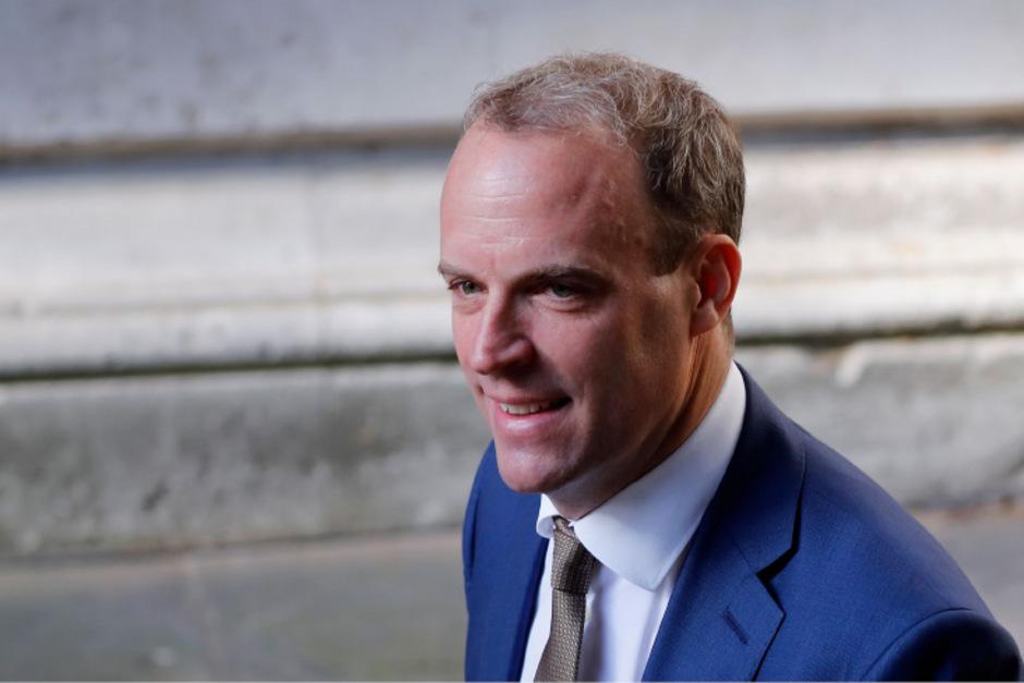 Der britische Außenminister Dominic Raab.