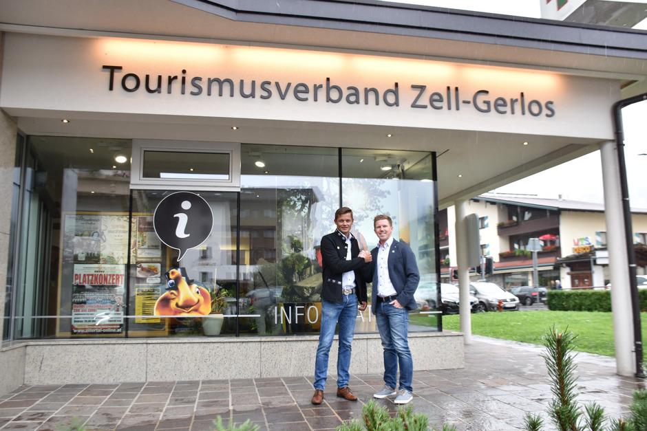 TVB-Obmann Ferdinand Lechner (l.) arbeitet mit dem frischgebackenen Geschäftsführer Christian Daum schon an einer neuen Strategie für die Tourismusregion.