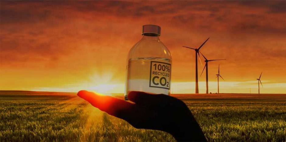 Mit der neuen Technik wird CO2 zur Herstellung von Methanol verwendet.