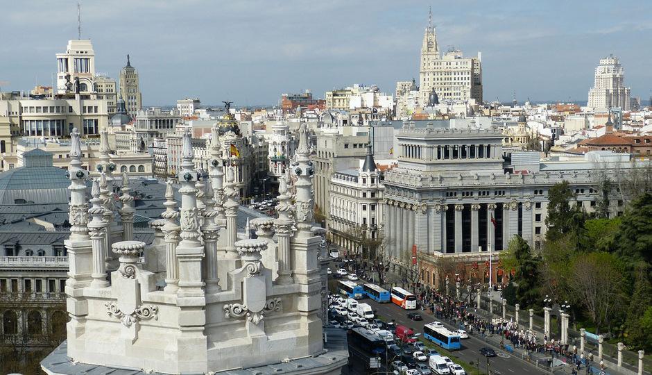 Blick auf Madrid. (Symbolfoto)