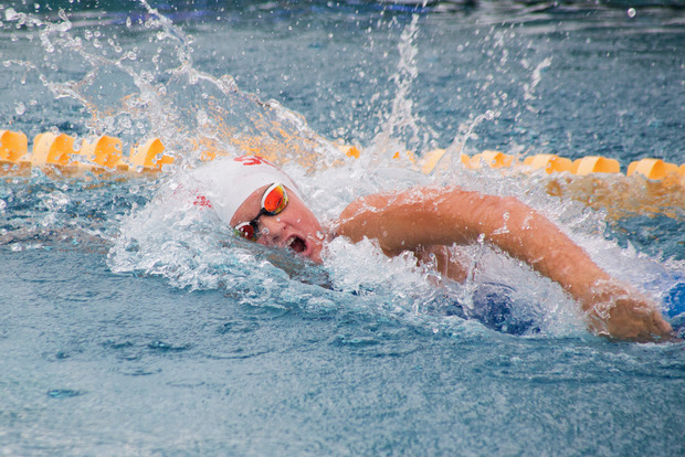 Doppelschlag: Maria Eder holte zweimal Gold und drei Rekorde.