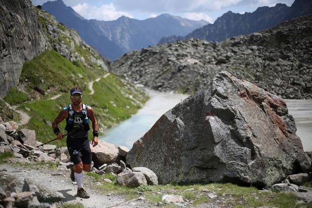 Die Kulisse der Ötztaler Alpen bildet am Samstag den Rahmen für die siebente Auflage des Pitz Alpine Glacier Trails.