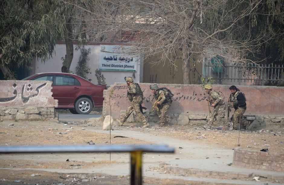 Afghanische Regierungskräfte (Archivbild).