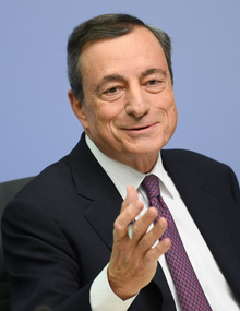 Noch-EZB-Präsident Mario Draghi.