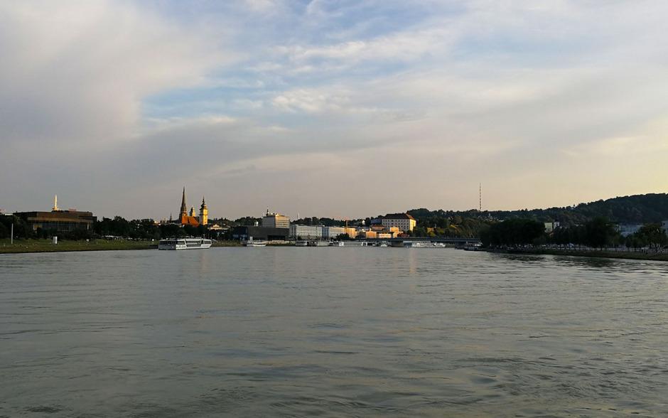 Die Donau bei Linz. (Symbolfoto)