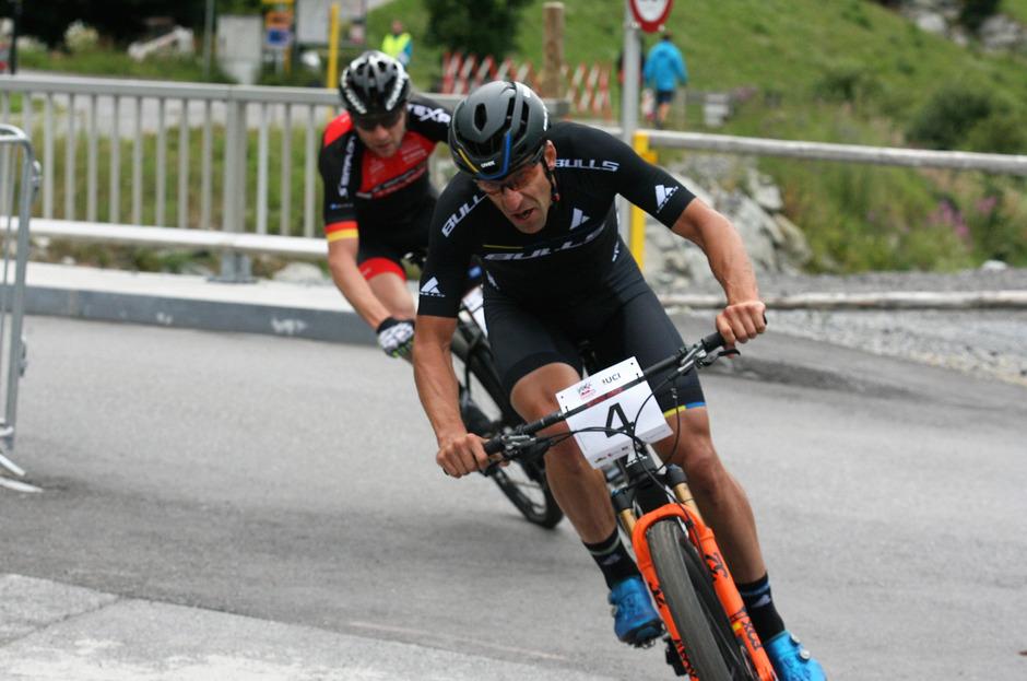 Alban Lakata (Team Bulls) feierte gestern den Sieg im ersten von vier Rennen beim Ischgl Ironbike.