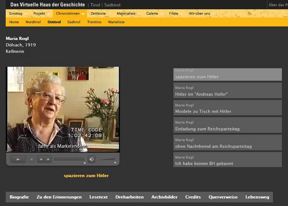 Maria Rogl im Interview.
