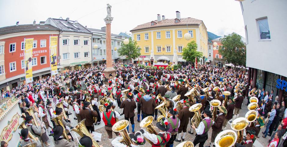 Am Samstag halten wieder Hunderte Musikanten das Bezirksmusikfest Lienzer Talboden am Johannesplatz ab.