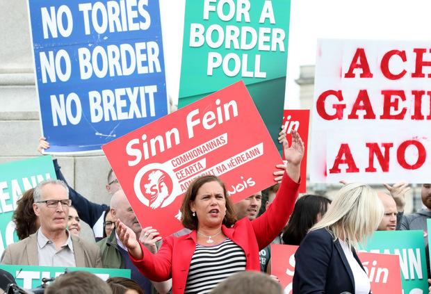 """Ein No Deal wäre eine """"Katastrophe"""" für Wirtschaft, Gesellschaft und den Friedensprozess, so Mary Lou McDonald, Chefin der republikanischen Partei Sinn Fein."""