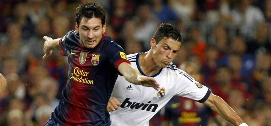 Im ständigen Kampf gegeneinander: Lionel Messi und Cristiano Ronaldo. (Archivbild)