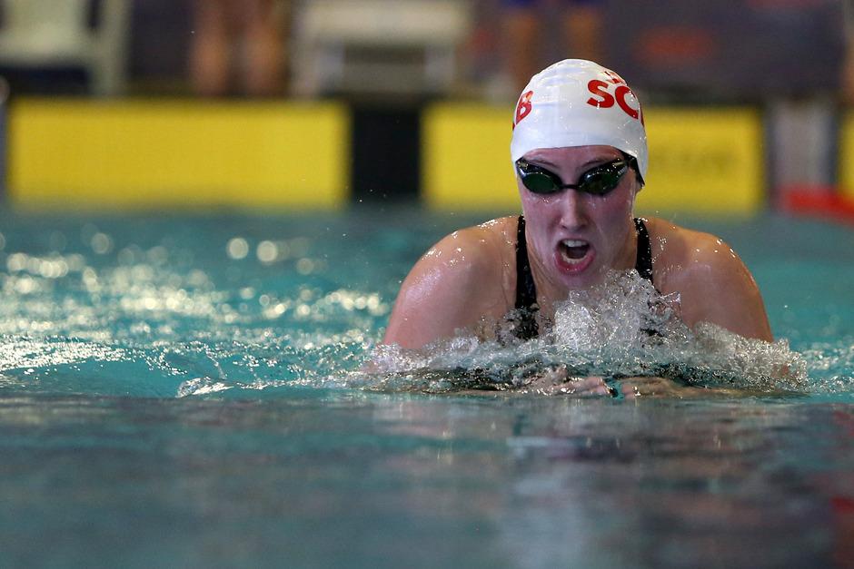 Adriana Duller (SC IKB Innsbruck) startet heute als Titelverteidigerin in die Entscheidung über 400 m Lagen.