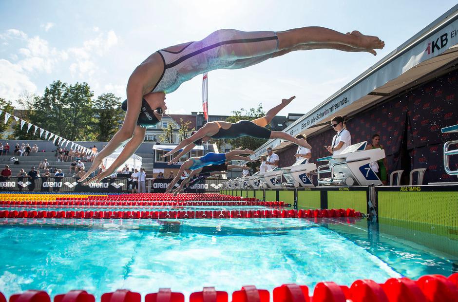 Die Tiroler Schwimmer erwischten einen guten Start bei den Staatsmeisterschaften im Tivoli.