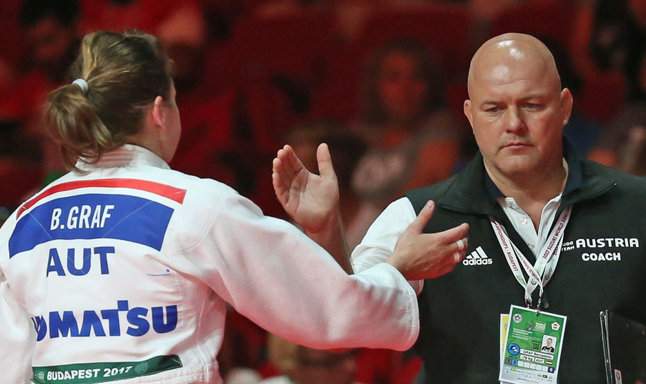 Coach Spittka betreute Graf (l.) und Unterwurzacher seit 2008.