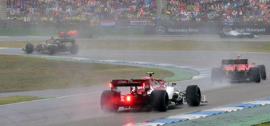 Antonio Giovinazzi und Alfa Romeo wurden nach dem Grand Prix unsanft ausgebremst.
